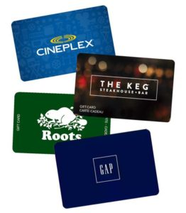 Gift Cards, Mobile Android Application Barrie